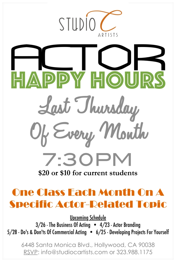 SCA Happy Hours Postcard 03-19-15